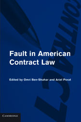 Fault in American Contract Law by Omri Ben-Shahar