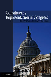Constituency Representation in Congress by Kristina C. Miler
