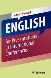 English for Presentations at International Conferences by Adrian Wallwork