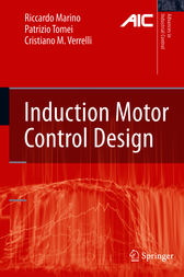 Induction Motor Control Design by Riccardo Marino