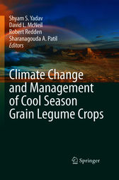 Climate Change and Management of  Cool Season Grain Legume Crops by Shyam Singh Yadav