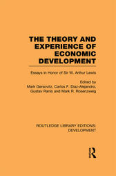 The Theory and Experience of Economic Development by Mark Gersovitz