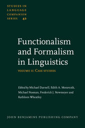 Functionalism and Formalism in Linguistics by Michael Darnell