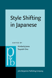 Style Shifting in Japanese by Kimberly Jones