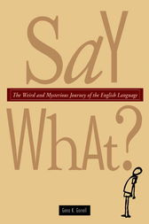 Say What? by Gena K. Gorrell
