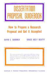 Dissertation Proposal Guidebook by David Gardner