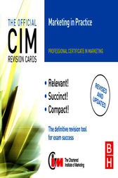 CIM Revision Cards Marketing in Practice by John Williams
