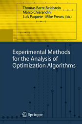 Experimental Methods for the Analysis of Optimization Algorithms by Thomas Bartz-Beielstein