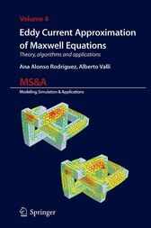 Eddy Current Approximation of Maxwell Equations by Ana Alonso Rodriguez