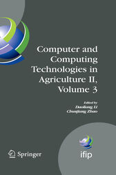 Computer and Computing Technologies in Agriculture II, Volume 3 by Daoliang Li