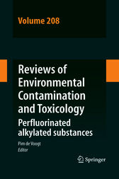 Reviews of Environmental Contamination and Toxicology Volume 208 by Pim De Voogt