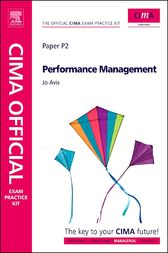 CIMA Official Exam Practice Kit Performance Management by Jo Avis