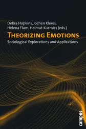 Theorizing Emotions by Jack Barbalet