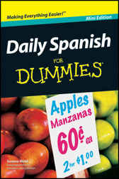Daily Spanish For Dummies, Mini Edition by Susana Wald