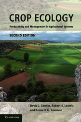 Crop Ecology by David J. Connor