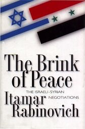 The Brink of Peace by Itamar Rabinovich
