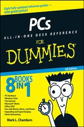 PCs All-in-One Desk Reference For Dummies by Mark L. Chambers