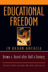 Educational Freedom in Urban America by David Salisbury