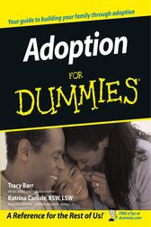Adoption For Dummies by Tracy Barr