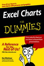 Excel Charts For Dummies by Ken Bluttman