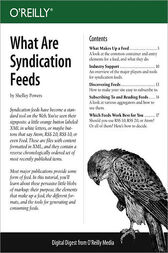 What Are Syndication Feeds by Shelley Powers