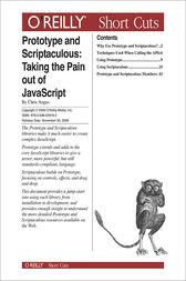 Prototype and Scriptaculous: Taking the Pain out of JavaScript by Chris Angus