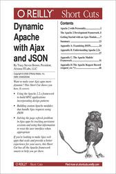 Dynamic Apache with Ajax and JSON by Tracy Steven Brown