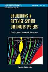 Bifurcations in Piecewise-Smooth Continuous Systems by David John Warwick Simpson