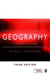 Statistical Methods for Geography by Peter A. Rogerson