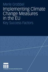 Implementing Climate Change Measures in the EU by Merle Grobbel