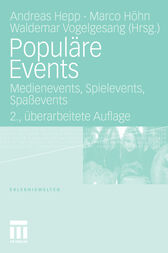 Populäre Events by Andreas Hepp