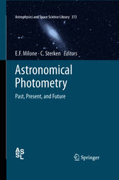 Astronomical Photometry by Eugene F. Milone