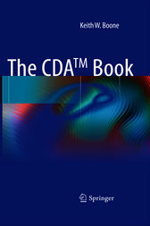 The CDA TM book by Keith W. Boone