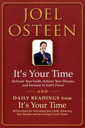 It's Your Time and Daily Readings from It's Your Time Boxed Set by Joel Osteen