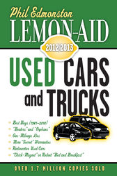 Lemon-Aid Used Cars and Trucks 2012–2013 by Phil Edmonston