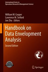Handbook on Data Envelopment Analysis by William W. Cooper