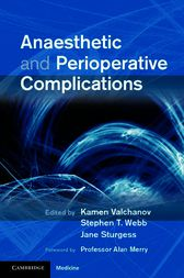 Anaesthetic and Perioperative Complications by Kamen Valchanov