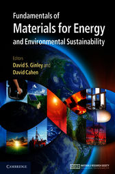 Fundamentals of Materials for Energy and Environmental Sustainability by David S. Ginley