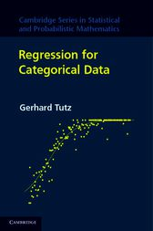 Regression for Categorical Data by Gerhard Tutz