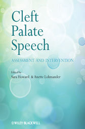 Cleft Palate Speech by Sara Howard