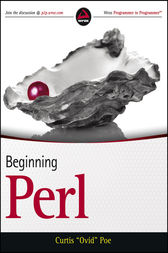 Beginning Perl by Curtis Poe