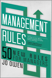 Management Rules by Jo Owen