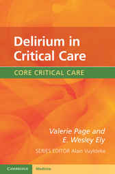 Delirium in Critical Care by Valerie Page