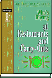 Who's Buying at Restaurants and Carry-Outs by New Strategist Publications