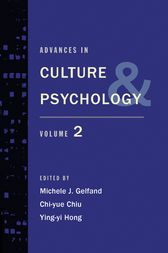 Advances in Culture and Psychology by Michele J. PhD Gelfand