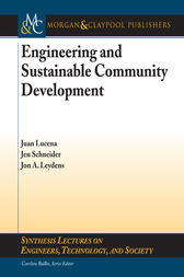 Engineering and Sustainable Community Development by Juan Lucena