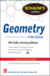 Schaum's Outline of Geometry, 5th Edition by Christopher Thomas
