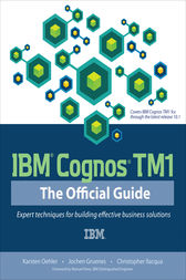 IBM Cognos TM1 The Official Guide by Karsten Oehler