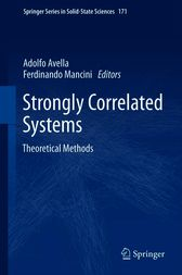 Strongly Correlated Systems by Adolfo Avella