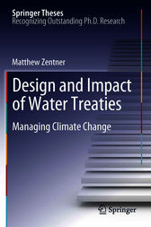 Design and impact of water treaties: Managing climate change